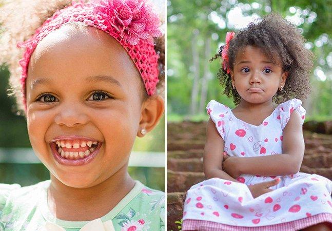 """""""Alisa não, mãe!"""": projeto fotográfico desafia meninas a amarem seus cachos"""