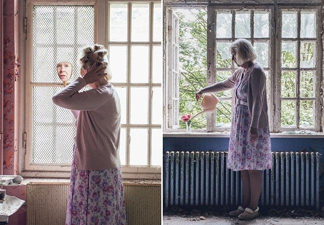 Fotógrafa cria ensaio sensível para mostrar os dias difíceis da sua avó na luta contra o Alzheimer