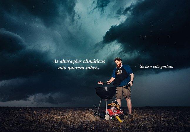 O planeta não quer saber: série de retratos poderosos alerta pro perigo das alterações climáticas
