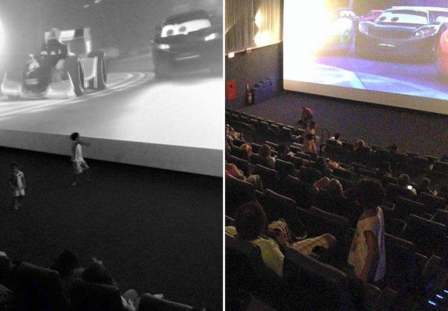 Projeto brasileiro cria sessões de cinema só para crianças autistas e emociona os pais