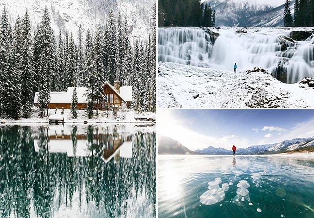 Fotógrafo canadense mostra como o inverno pode ser incrível