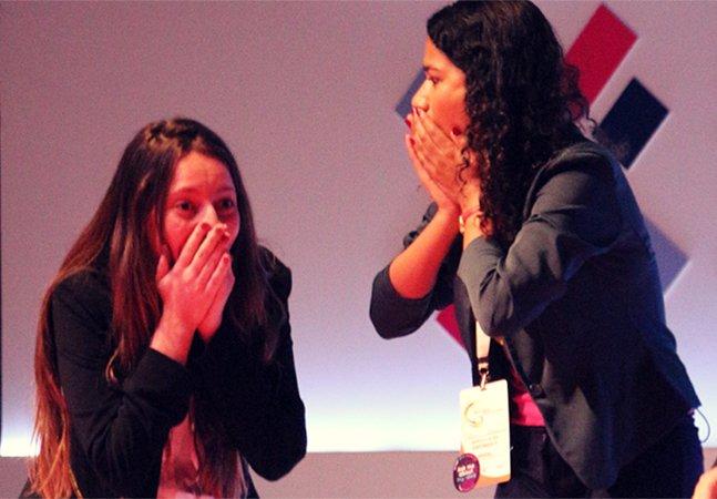 Estudantes brasileiras fazem sucesso com app para empoderar mulheres nos negócios