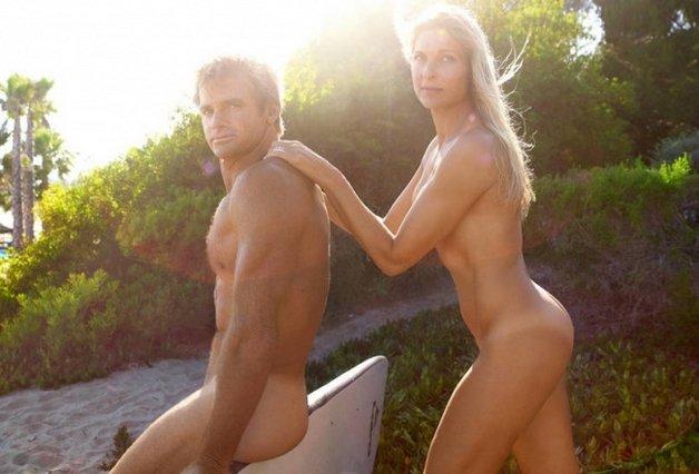 Gabrielle Reece and Laird Hamilton2
