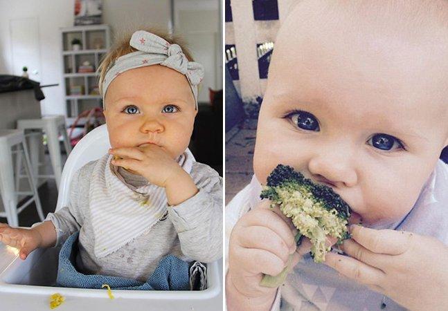 Mãe mostra o que acontece quando um bebê segue a dieta do paleolítico