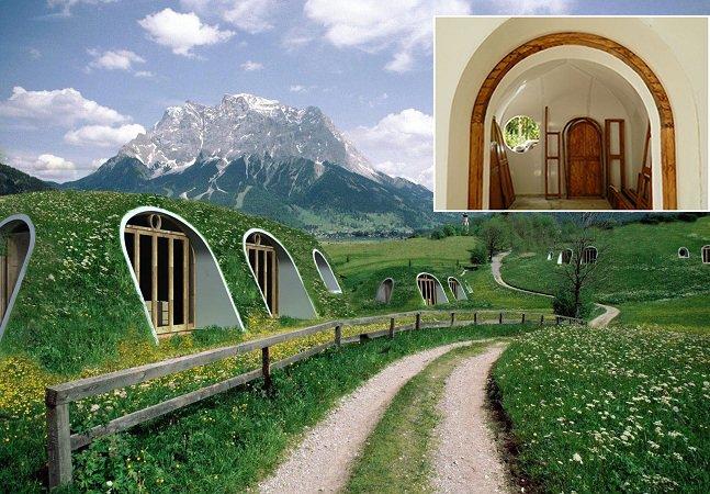 Empresa cria casas de hobbit incríveis em apenas 3 dias – e você pode ter uma