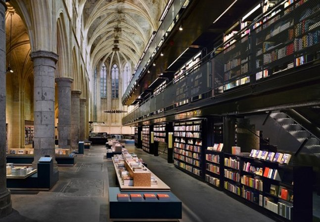 Holanda transforma antigos templos e igrejas em livrarias e o resultado é incrível