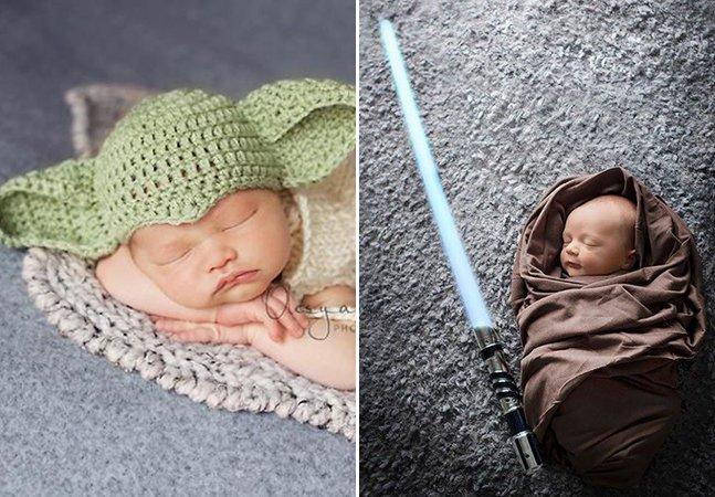 Internautas seguem Zuckerberg e compartilham fotos de seus bebês vestidos de personagem de Star Wars