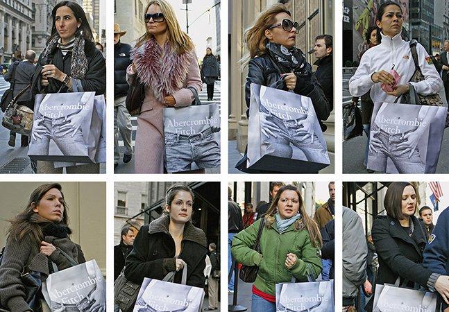 Fotógrafo passa 20 anos  provando que nos vestimos todos da mesma forma
