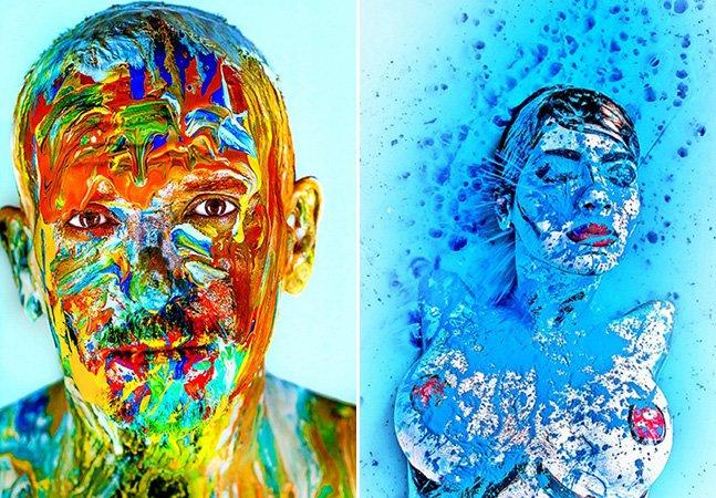 Julgue agora: fotógrafo cria série de retratos coloridos para combater racismo no Brasil