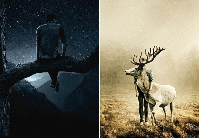 Fotógrafo cria série surreal para mostrar a magia do silêncio e dos momentos a sós