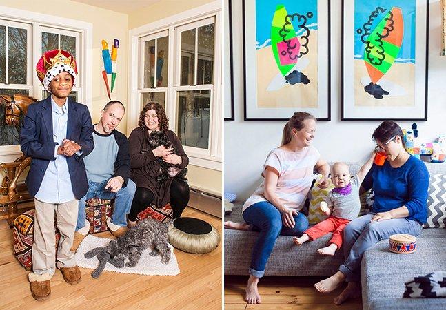 """Fotógrafa viaja o mundo durante 10 anos pra provar a diversidade do conceito de """"família"""""""