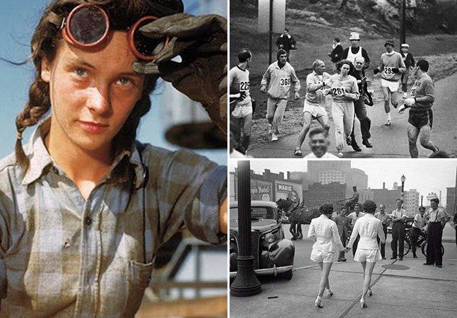 Série de fotos retrata mulheres poderosas que mudaram a história pra sempre