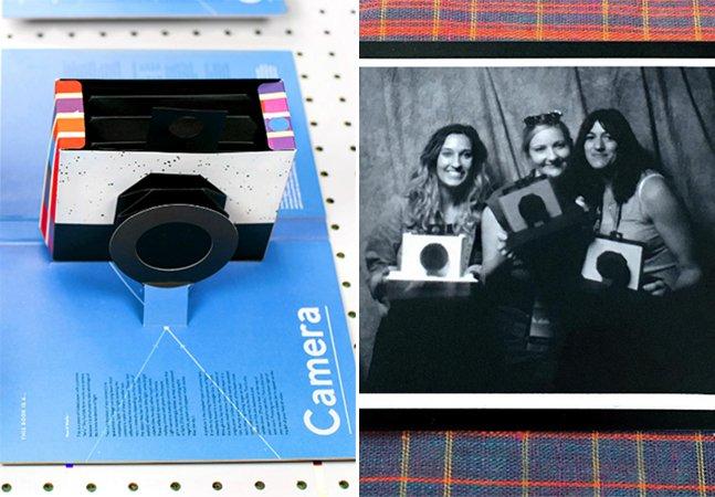 Conheça o incrível livro que se transforma em uma câmera pinhole de verdade