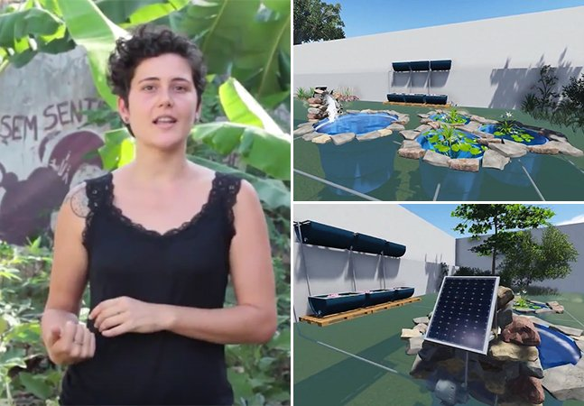Projeto ensina como construir uma piscina natural na sua casa