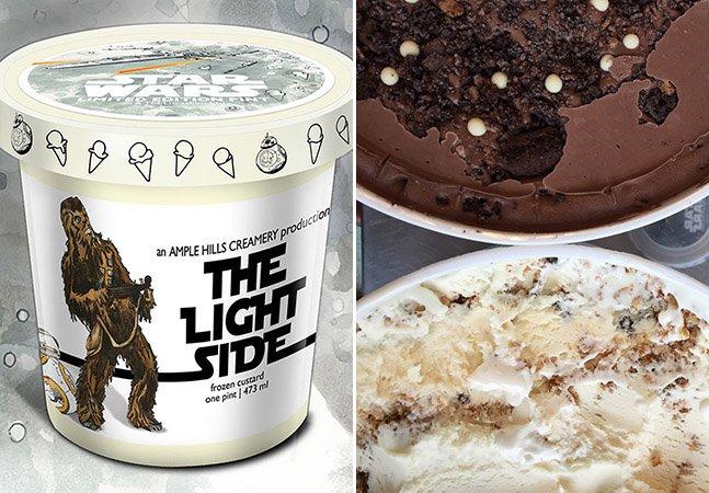 Marca cria sabores de sorvete inspirados em Star Wars