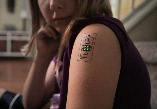 Empresa cria tatuagens que vigiam sua saúde