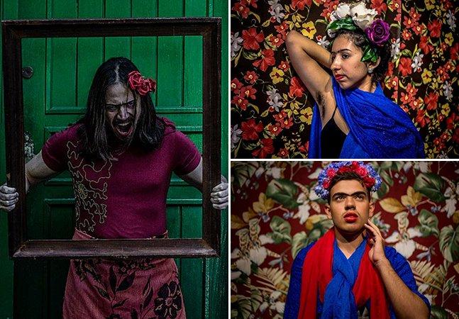 """""""Todos podem ser Frida"""": projeto se inspira na artista pra mostrar a beleza de ser diferente"""