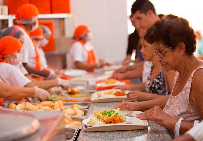 Agora é possível conseguir um almoço vegetariano em SP por 1 real
