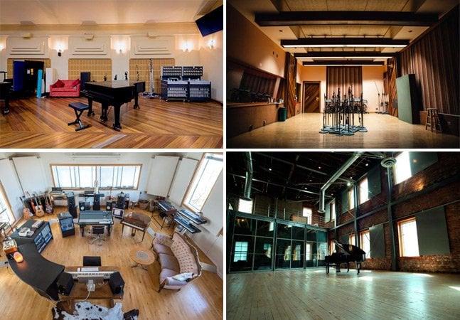 Conheça os 12 estúdios musicais mais emblemáticos do mundo