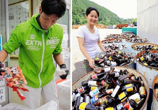 O vilarejo no Japão  em que 80% dos resíduos  produzidos são reciclados
