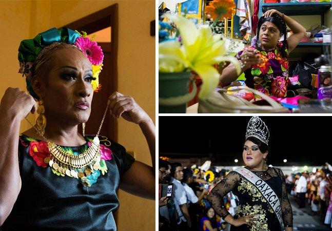Festival anual celebra  o terceiro gênero no México