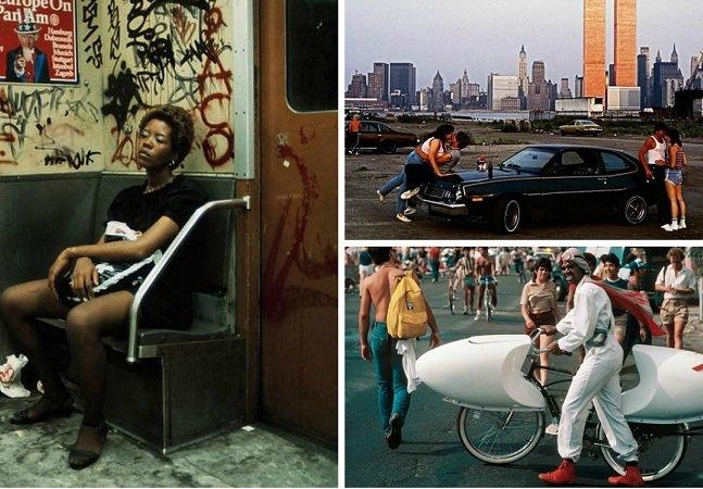 Série de fotos mostra a vida  nas ruas de NY desde a década  de 1980 até os dias atuais