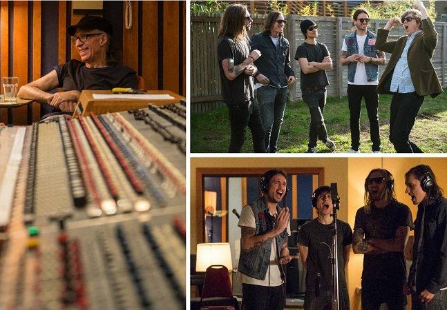 Como uma banda punk independente de Curitiba foi parar num dos maiores estúdios de gravação do mundo