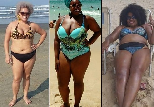 """""""Vai ter gorda na praia sim!"""",  diz ocupação contra a  gordofobia em praias brasileiras"""