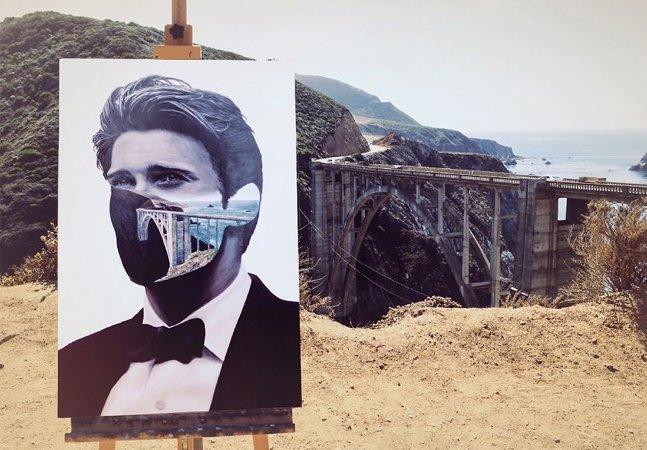 Jovem combate doença rara que o impediu de andar criando série de pinturas surreais