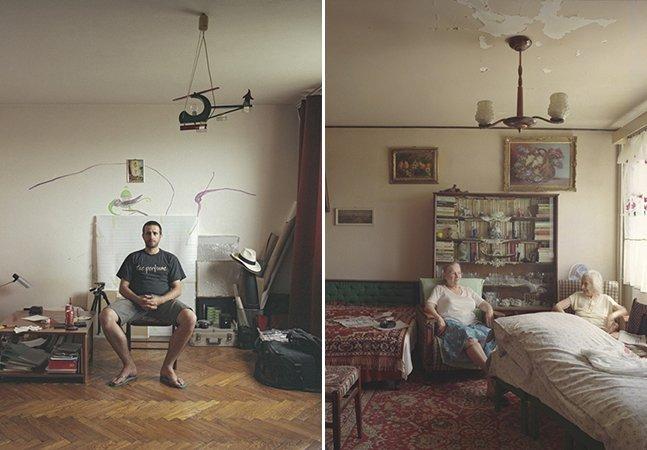 Série fotográfica mostra como as pessoas vivem de forma diferente em apartamentos iguais