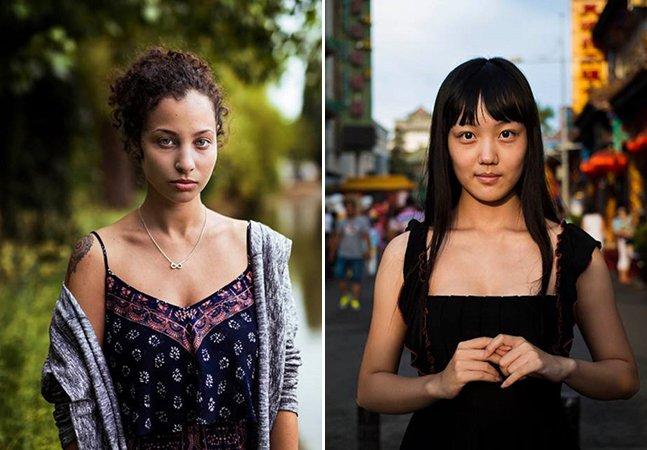 Fotógrafa viaja o mundo para retratar os vários tipos de beleza feminina