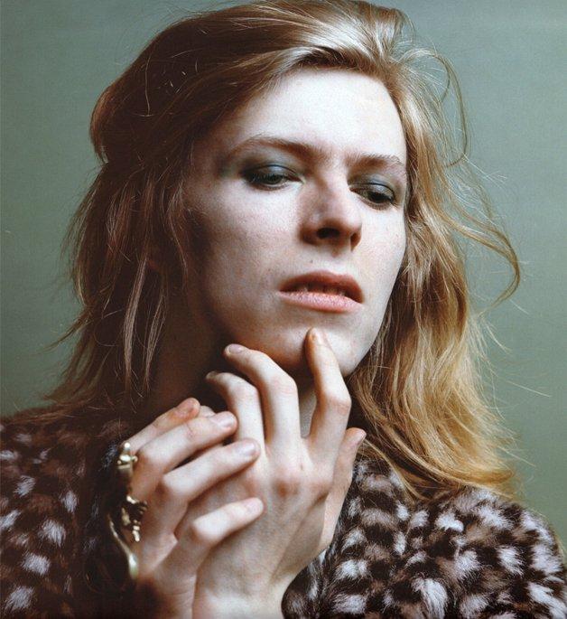 Bowie, na época do Hunky Dory, antes de se tornar Ziggy Stardust