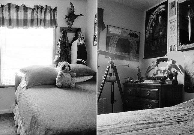 Série de fotos mostra como pais deixam os quartos dos filhos que morreram na guerra