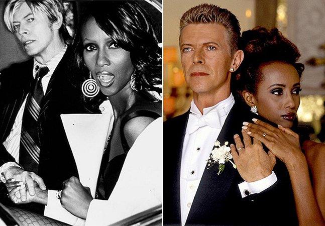 Série de fotos documenta o inspirador casamento de 23 anos de David Bowie