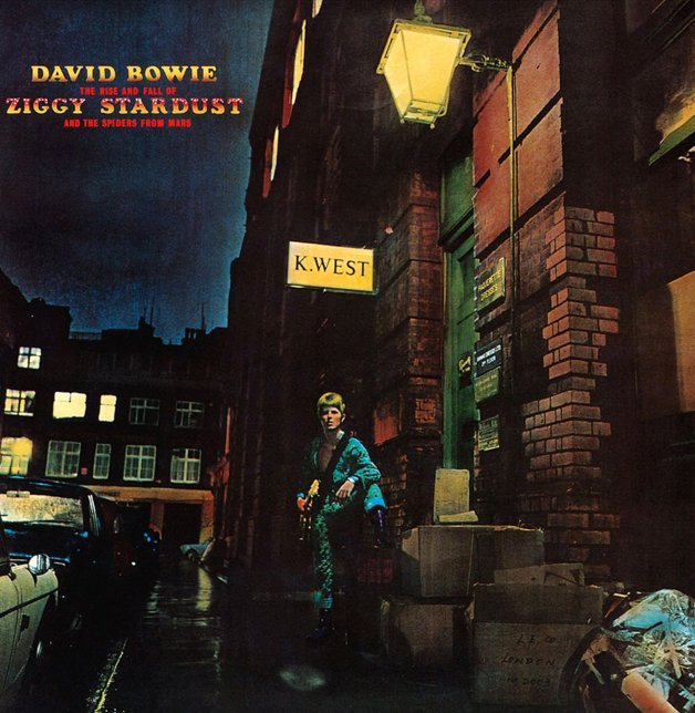 Capa do disco The Rise and Fall of Ziggy Stardust and the Spiders From Mars