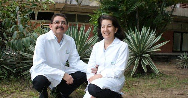 O casal criador Biorepely ©Divulgação