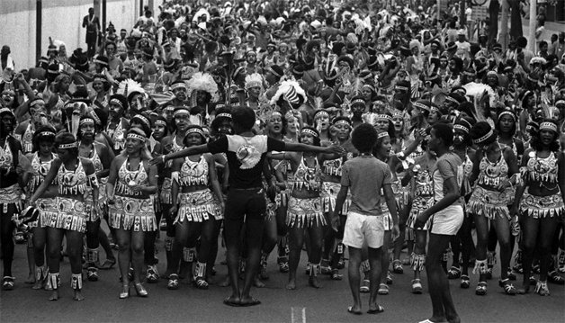 A vanguarda do Cacique, em 1974 ©Divulgação