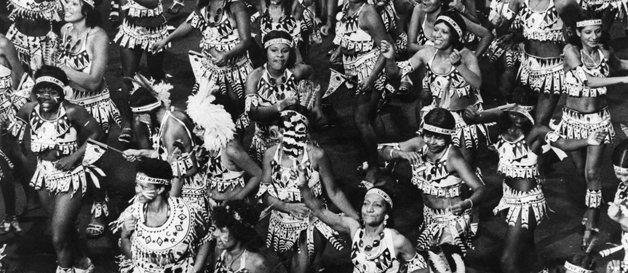 """Os """"índios"""" do Cacique de Ramos, nos anos 1970 ©Divulgação"""