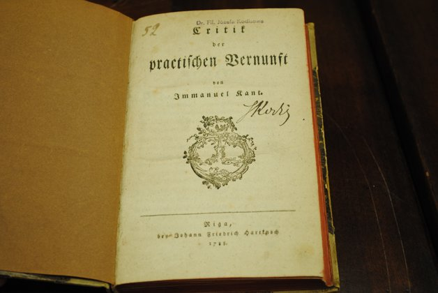 Primeira edição do livro, de 1781
