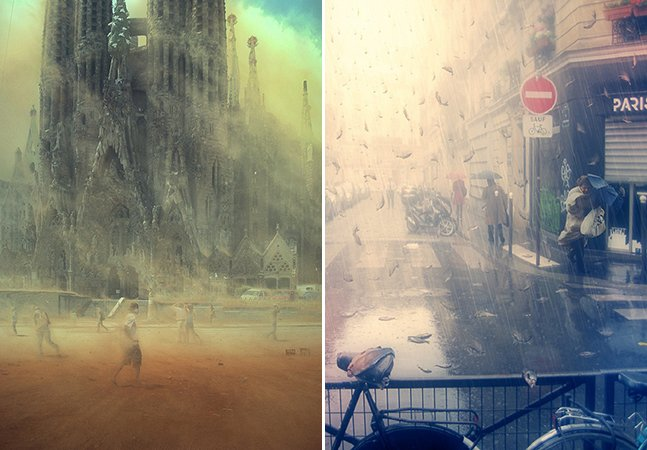 Artista imagina como as mudanças climáticas mudarão o planeta para sempre