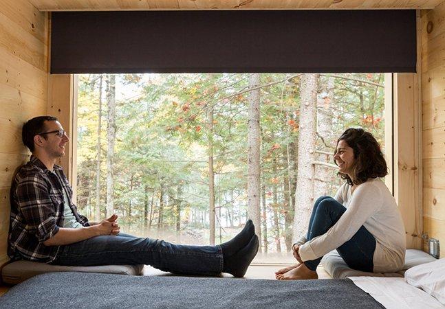 Micro habitação super confortável de 15 m² promete ser o futuro das casas de campo