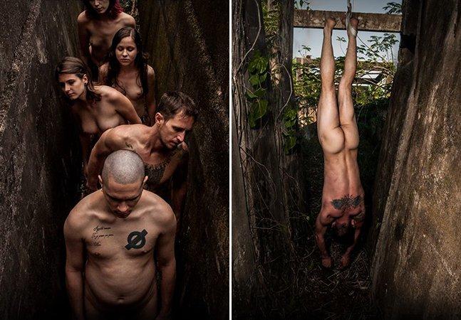 Fotógrafo levanta debate ao trocar animais por pessoas na fila para o abate em matadouro de SP