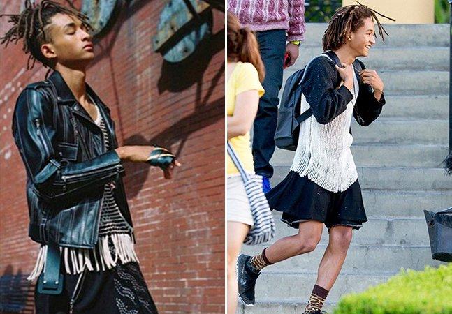 O que podemos aprender com o filho de Will Smith, que aos 17 anos é estrela de campanha de roupa feminina