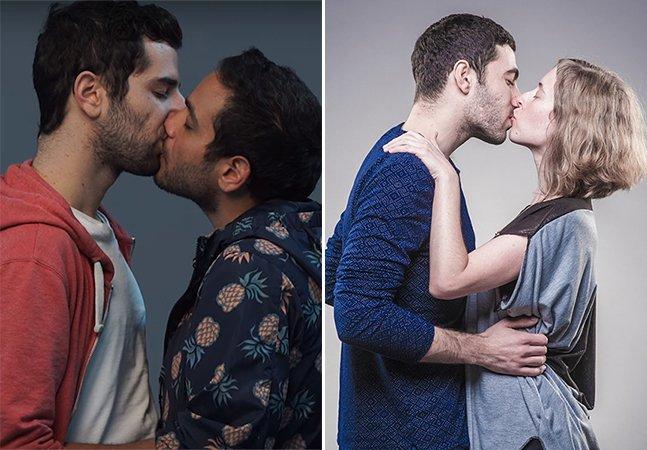 O amor vencerá: vídeo junta casais de judeus israelitas e árabes se beijando em nome da paz