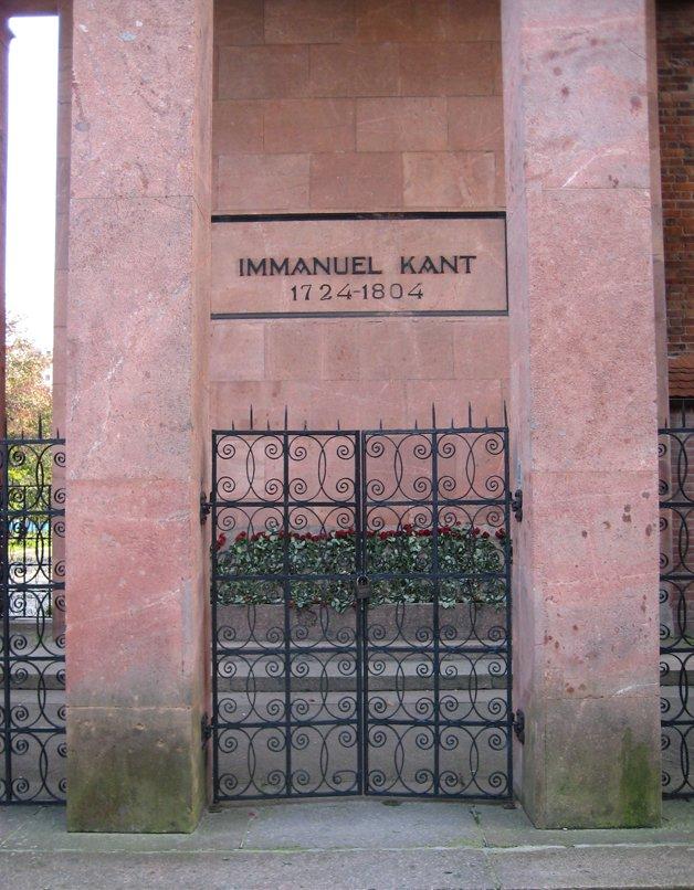 Túmulo de Kant, em Königsberg