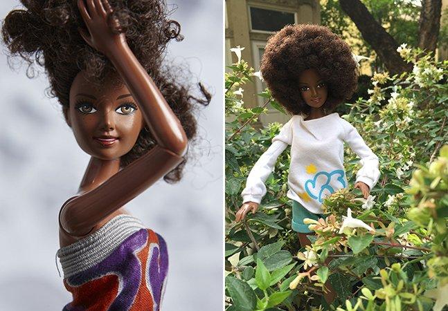 Conheça a inspiradora linha de bonecas negras e cabelos crespos que já é sucesso mundial
