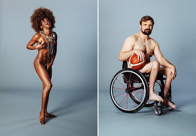 Transgênero, grávida ou cadeirante: ensaio com pessoas nuas celebra a diversidade do corpo humano [NSFW]