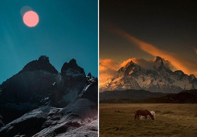 Série de fotos retrata a beleza intocada da Patagônia