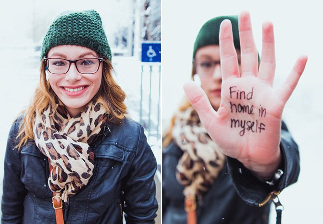 Projeto inspirador retrata pessoas e suas resoluções para o ano novo