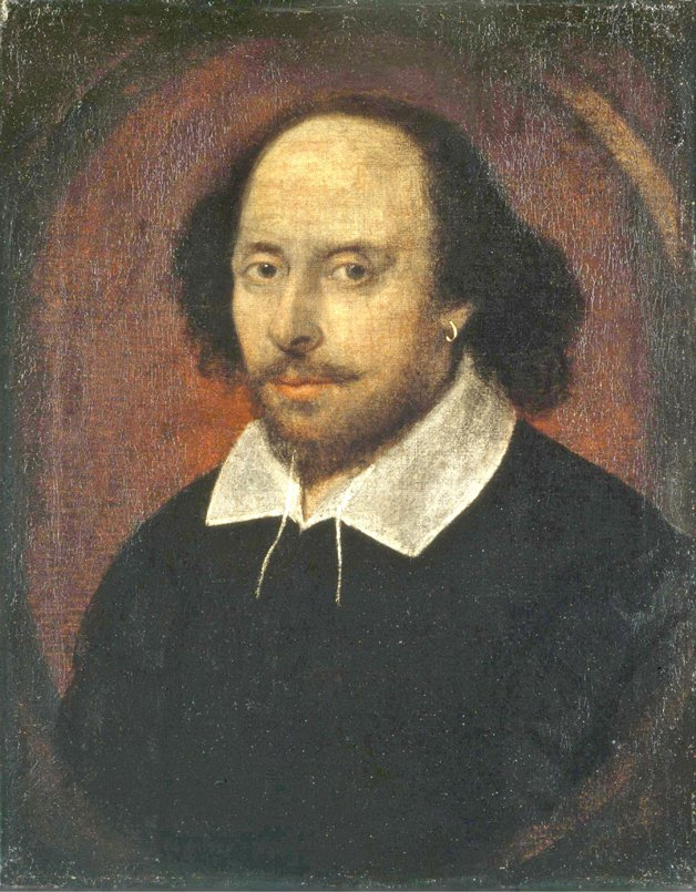 Retrato de Shakespeare, autor desconhecido